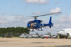 Gazellenhubschrauber HA-LFQ Aerospatiale SA-341G Stockbilder