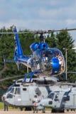 Gazellenhubschrauber HA-LFQ Aerospatiale SA-341G Lizenzfreies Stockfoto
