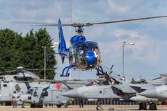 Gazellenhubschrauber HA-LFQ Aerospatiale SA-341G Lizenzfreies Stockbild