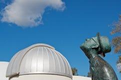 Gazer do Planetarium e da estrela fotografia de stock royalty free