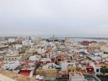 Gazer em Almeria spain foto de stock