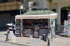 Gazetowy kiosk w Istanbuł obraz stock