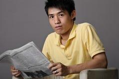 gazetowy read obraz royalty free