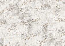 Gazetowy rocznika grunge kolażu tło ilustracja wektor