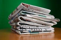 gazety sterta obrazy royalty free