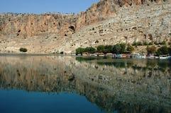 Gaziantep nel bacino idrico Fotografie Stock