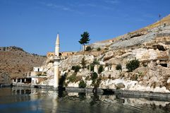 Gaziantep in the reservoir Royalty Free Stock Images