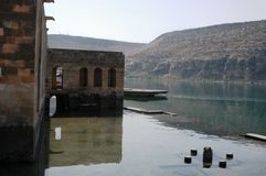 Gaziantep in the reservoir Royalty Free Stock Photo