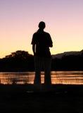 gazing река Стоковая Фотография RF
