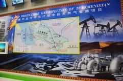 gazociąg Turkmenistan Fotografia Royalty Free
