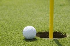 Gazon de golf Photographie stock libre de droits