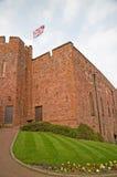 Gazon en het kasteel Stock Foto