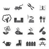 Gazon ikony set ilustracji