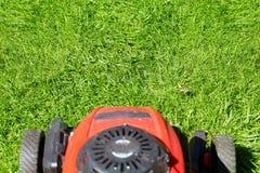 Gazonu kosiarz ciie trawy Zdjęcie Royalty Free