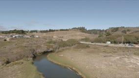 Gazos Creek 6 stock footage