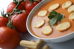 Gazpacho Royalty Free Stock Photos