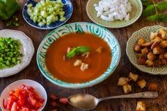 gazpacho Royaltyfri Bild