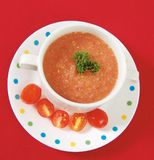 Gazpacho Royalty Free Stock Photography