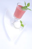 Gazpacho with lemon sorbet [3] Stock Photography