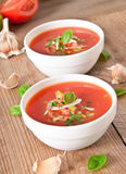Gazpacho soup Stock Images