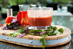 Gazpacho soup Royalty Free Stock Images