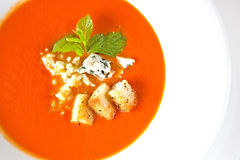 Gazpacho soup Stock Photo