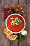 Gazpacho soup Royalty Free Stock Photo