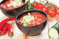 Gazpacho soup Royalty Free Stock Photography