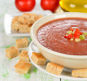 Gazpacho soup Stock Photography