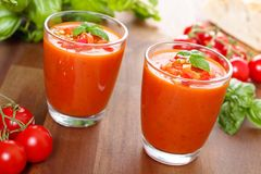 Gazpacho Stock Photography