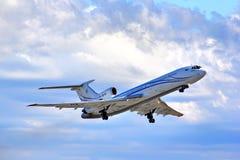 Gazprom Avia Tupolev Turkije-154M Royalty-vrije Stock Fotografie