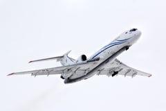 Gazprom Avia Tupolev Turkije-154M royalty-vrije stock foto's