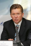 Gazprom CEO Alexey Miller Royalty Free Stock Photo