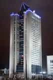 Gazprom tower Royalty Free Stock Image