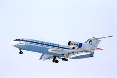 Gazpromavia Yakovlev Yak-42D Royalty Free Stock Photo