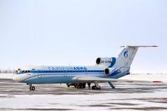 Gazpromavia Yakovlev Yak-42D Royalty Free Stock Image