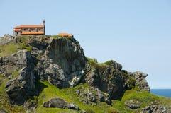 Gaztelugatxe - Bermeo - Spain. Gaztelugatxe Monastery in Bermeo - Spain Royalty Free Stock Image