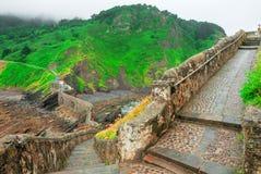 Gaztelugatxe españa País vasco Islote hermoso del paisaje fotografía de archivo