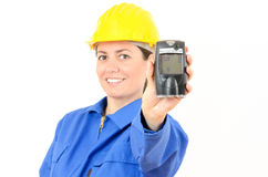 Gazu detektor, przyrząd dla mierzyć koncentrację Fotografia Royalty Free