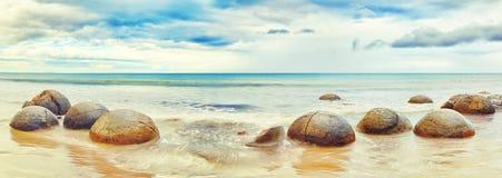 głazu moeraki Zdjęcie Royalty Free