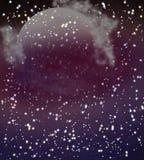 Gazy przychodzi od nieodkrytego astronomicznego ciała ilustracja wektor