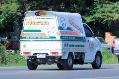 GB害虫控制公司微型卡车  免版税库存图片