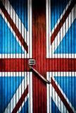 GB door oldschool Royalty Free Stock Photo