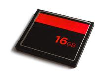 16gb memory card Royalty Free Stock Photo