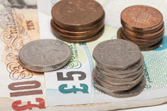 GB Pound money Stock Photography
