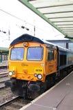 GB Railfreight klasy 66 dieslowska lokomotywa, Carlisle Zdjęcie Stock