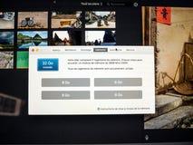 32Gb RAM Random Access Memory on the latest iMac Pro Stock Photography