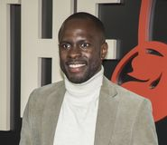 Gbenga Akinnagbe. Actor Gbenga Akinnagbe arrives for the New York premiere of HBO`s multi-part drama, `The Deuce,` The dramatic series follows the story of the Royalty Free Stock Images