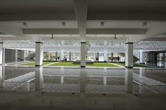 GBI绿色白金Cyberjaya清真寺在Cyberjaya,马来西亚 免版税库存照片
