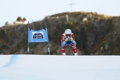 GBIESEMEYER Thomas in FIS alpiner Ski World Cup - 3. MÄNNER SUPER Lizenzfreies Stockbild